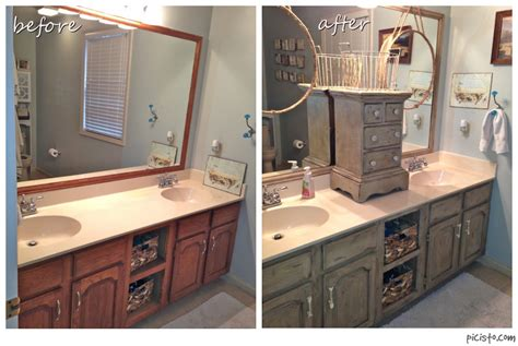 chalk paint kitchen cabinets before and after bathroom vanity makeover with sloan chalk paint