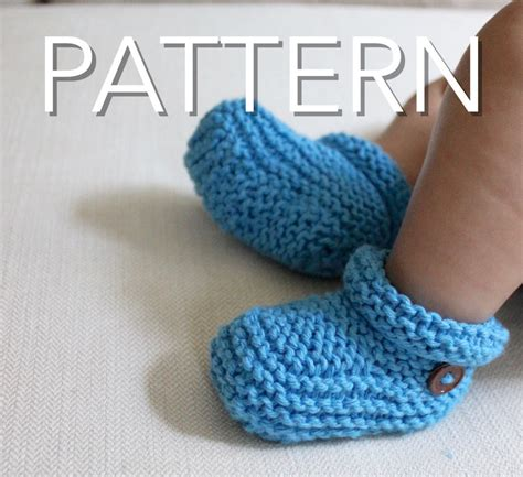 how to knit a shape for beginners booties knitting pattern beginners