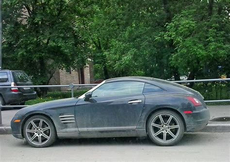 Chrysler Crossfire by Spotted Cars In Moscow Chrysler Crossfire
