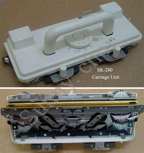 silver reed knitting machine prices sk218 sk260 sk280 sk360 sk600 k carriage complete for