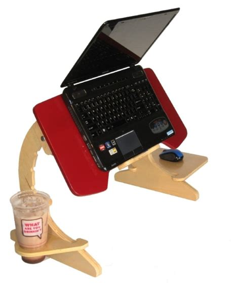 computer bed desk ergonomic laptop stand slash tray is for those who