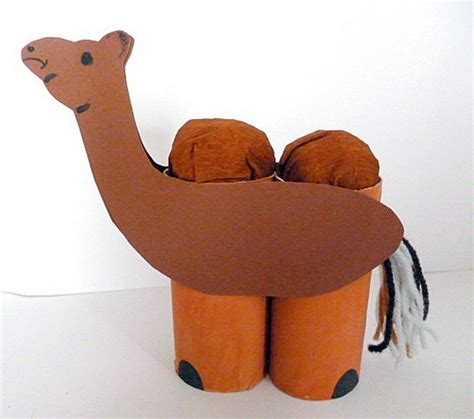 camel crafts for 60 animal themed toilet paper roll crafts hative
