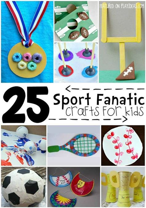 sports themed crafts for 25 sports themed crafts for for crafts for