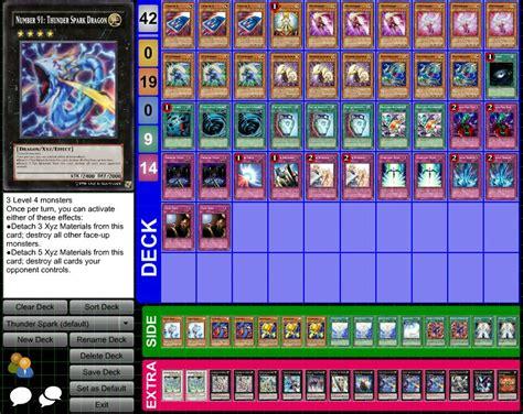 how to make a yugioh deck with random cards random deck thunder spark family by heartlessxiii on