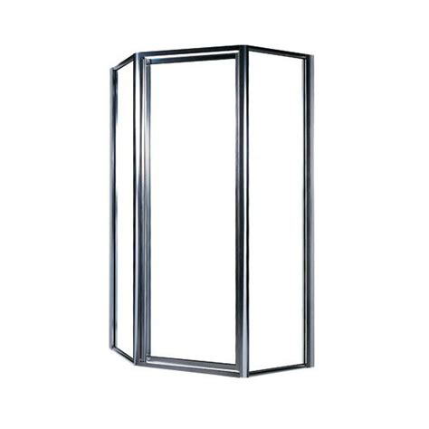 home depot glass shower doors swan 36 in neo angle shower door with clear glass