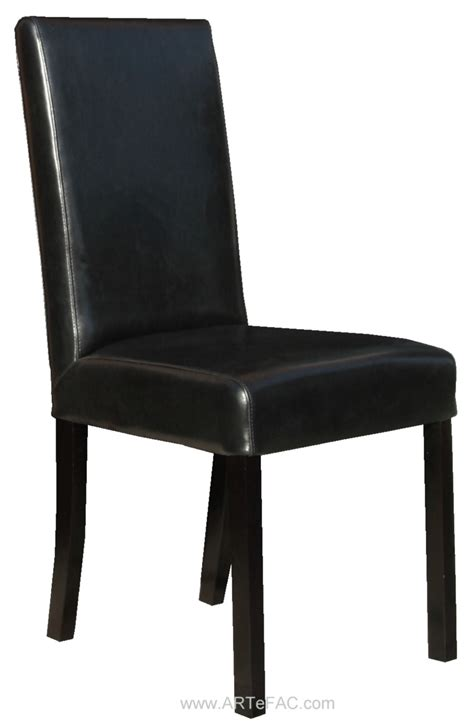 and black dining chairs quot black leather dining room chairs and leather bar stools