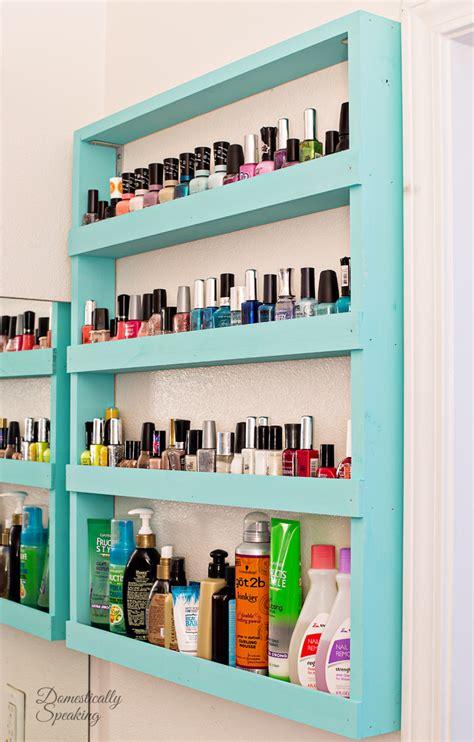 bathroom shelf storage bathroom storage nail shelf domestically speaking