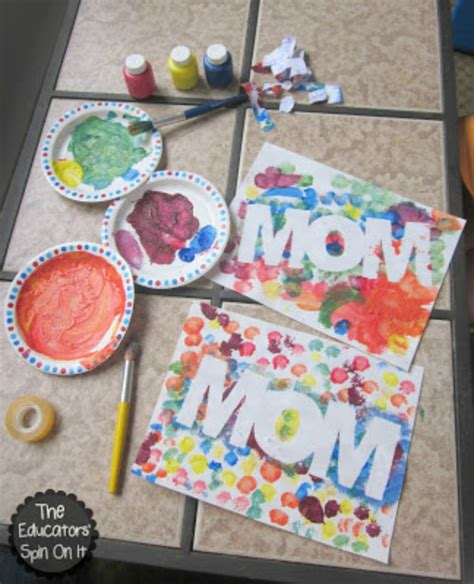 craft ideas for for mothers day diy s day crafts for blissfully domestic