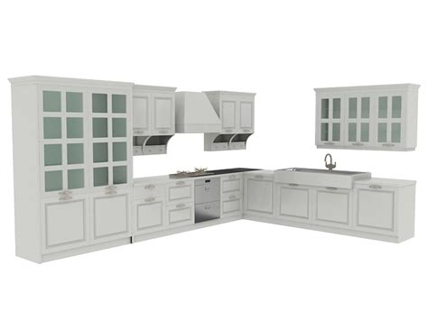 kitchen cabinet 3d european kitchen cabinets 3d model 3dsmax files free