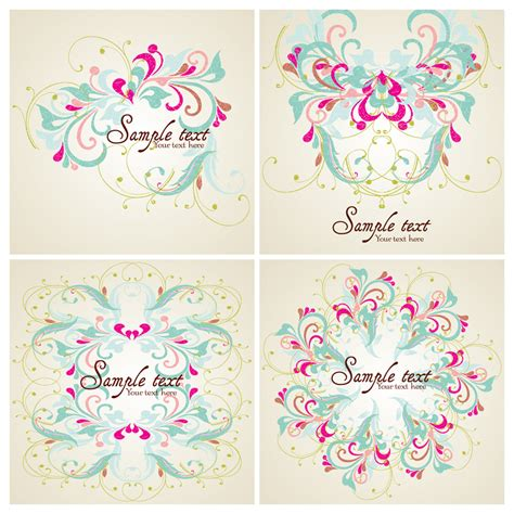 pattern card pattern card template free vector graphic