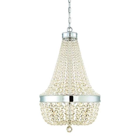 chandeliers at home home decorators collection 6 light chrome