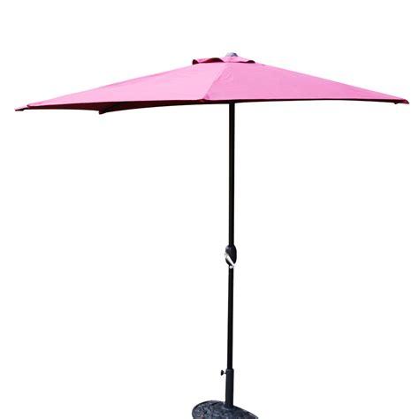 the wall patio umbrella half 5 ribs 10ft outdoor patio umbrella wall corner