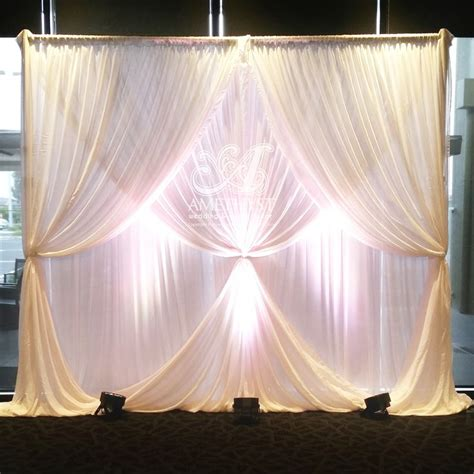 drapes and lights for weddings 17 best ideas about curtain lights on bedroom