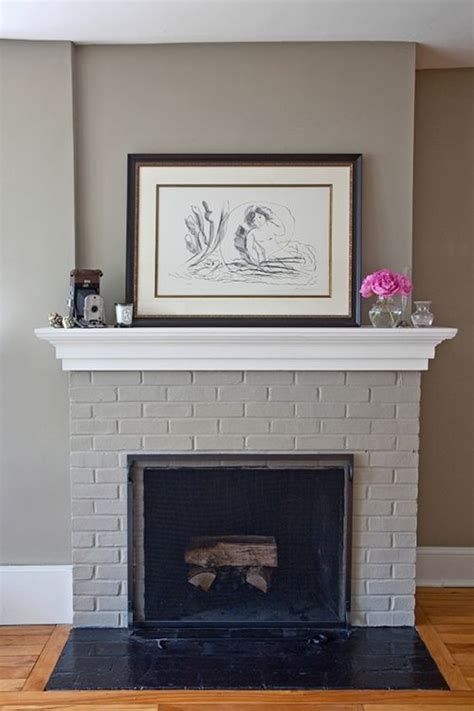 paint colors for living room with brick fireplace 1000 ideas about grey fireplace on fireplaces