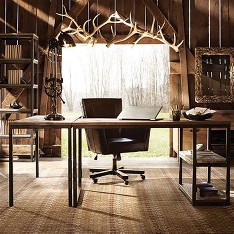 rustic home office furniture 1000 ideas about rustic home offices on