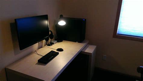l shaped desk gaming setup l shaped desk gaming setup 2016 gaming setup l shaped desk setup cool computer setups and