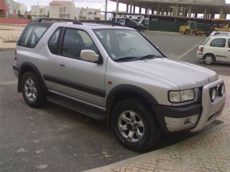 View Of Opel Frontera 2 2 Dti Photos Features And