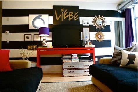 Zebra Bedroom Decorating Ideas decorate using black and white stripes