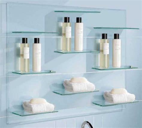 bathroom glass shelves floating glass shelves for bathroom floating glass