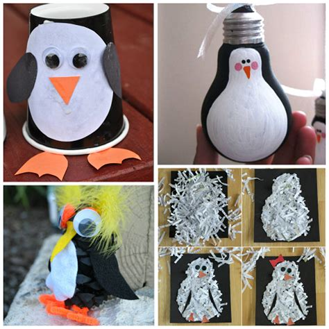penguin crafts for creative penguin crafts for to make crafty morning