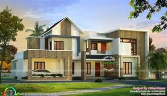 3500 square foot house mix roof style modern house in 400 sq yd home design simple