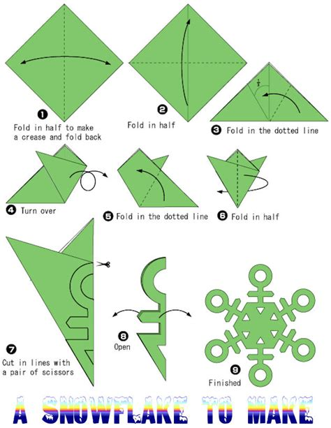 how to make origami snowflake snowflake paper new calendar template site