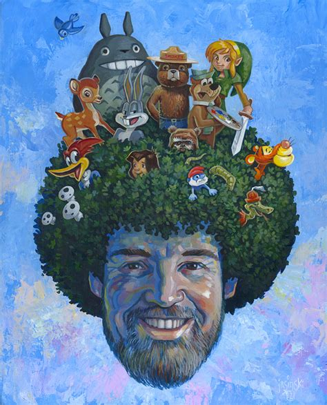 bob ross painting happy trees happy trees a tribute show to