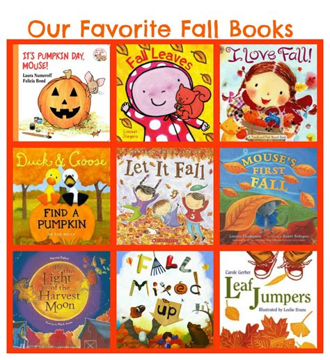 fall picture books fall books for toddlers preschoolers where imagination