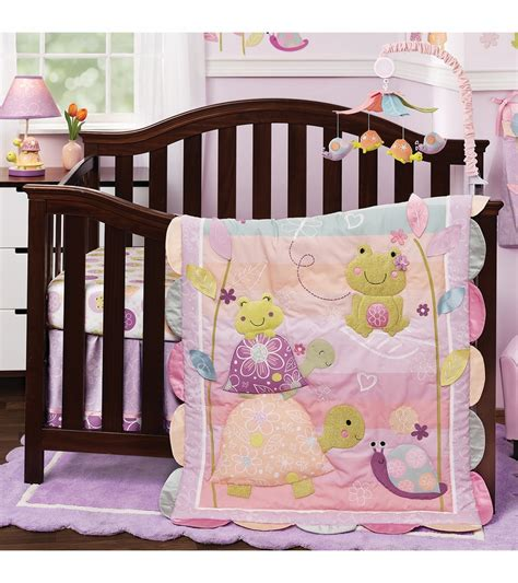 lambs and crib bedding lambs puddles 4 crib bedding set