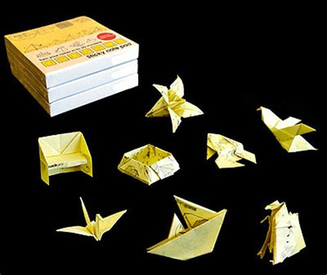 origami with post it notes post it origami