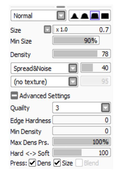 paint tool sai password realistic pencil settings for sai by thecomicstream on