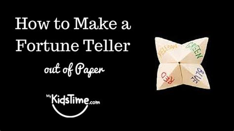 how do you make a origami fortune teller fortune teller for 2015 autos post