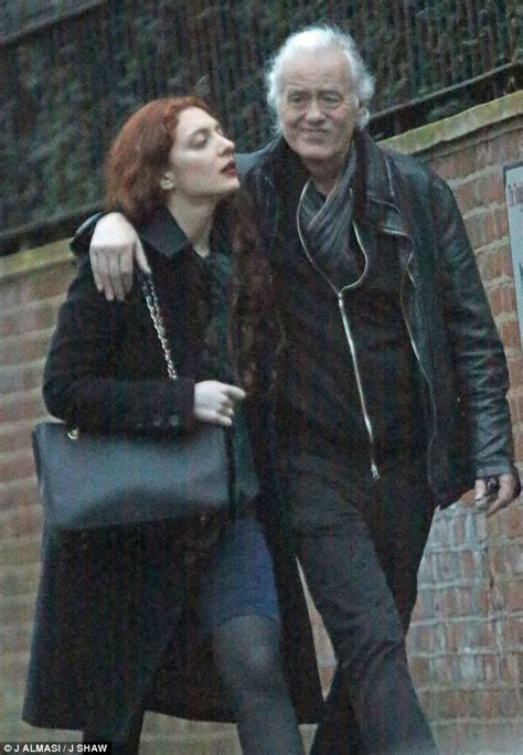 Led Back Splash jimmy page steps out in london with 26 year old girlfriend