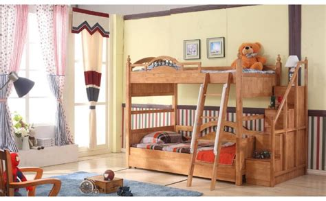 solid wood bunk beds with stairs buy roderik solid wood bunk bed with stairs kouch india