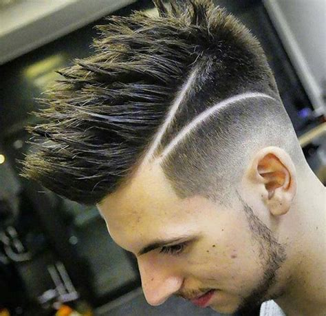 mens haircut with line 40 unique line hairstyles to help men make a statement