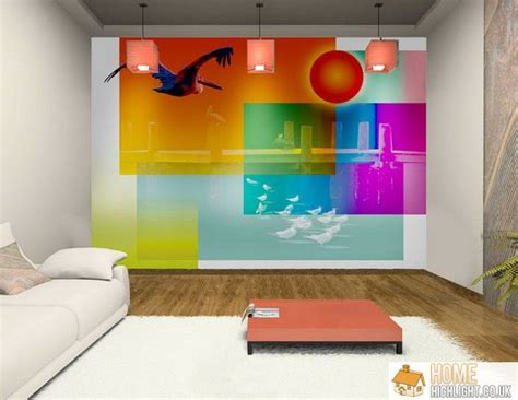 Cheap Wall Murals Uk 28 cool amp colourful living room design photos 171 home highlight