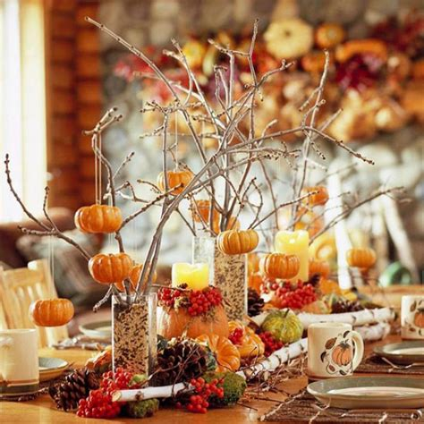 ideas for fall thanksgiving decor in autumn colors digsdigs