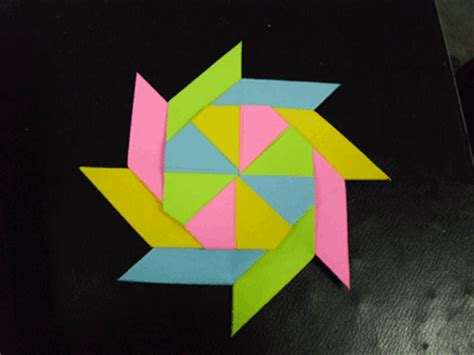 origami wheel modular origami pinwheel photos