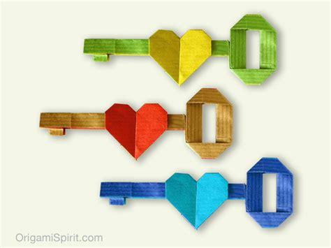 key origami origami key comot