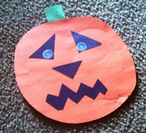 construction paper pumpkin crafts pumpkin construction paper craft construction paper