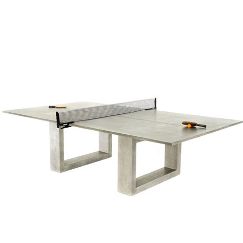 standard size ping pong table de wulf standard concrete ping pong table at 1stdibs