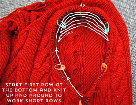 knitting set up row how to knit seamless set in sleeves from the top by