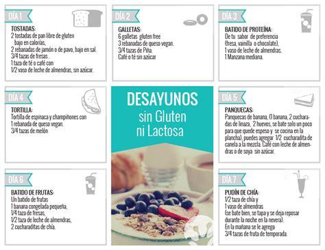 lista alimentos sin lactosa 7 recetas de desayunos sin gluten ni lactosa ideales para