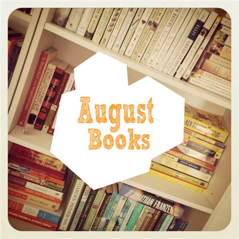 pictures of august from the book august 2012 books