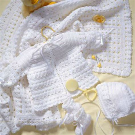 baby layette knitting patterns free crochet along baby layette 7
