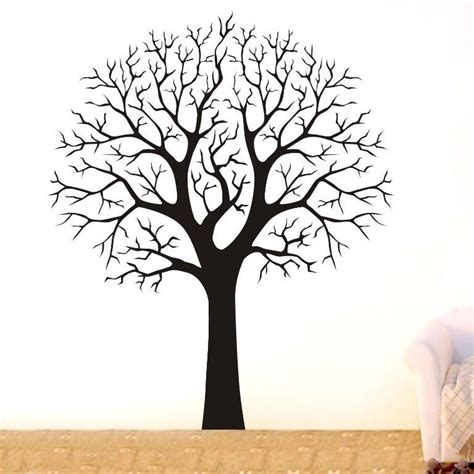 wall decor tree stickers large tree branch wall decor removable vinyl decal home