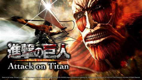 attach on titan impressively belated attack on titan tgs media info