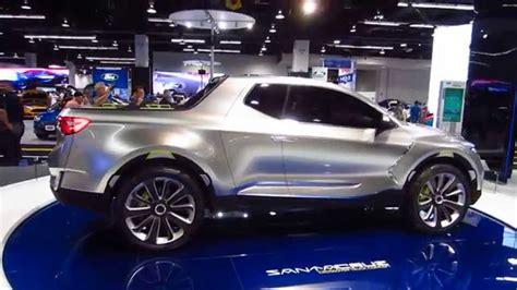 New Hyundai Truck by New 2016 Hyundai Santa Concept Truck Oc Auto Show