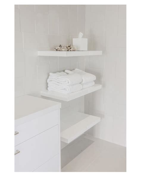white bathroom shelves photo page hgtv