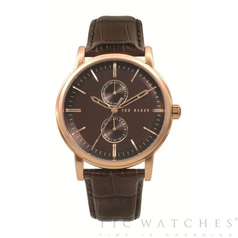 mens leather watches ted baker te1013 mens brown leather buy ted baker te1013 ted baker te1013 uk